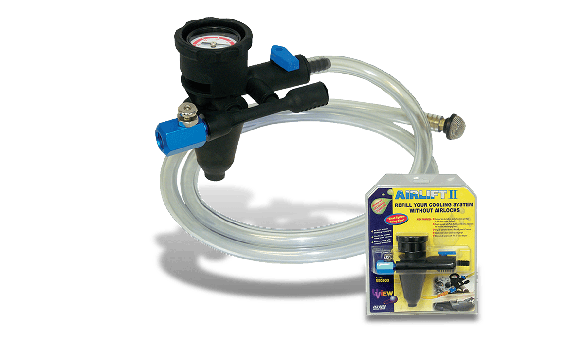 Airlift Coolant Refill Tool | Vacuum Cooling Filler | CPS Products