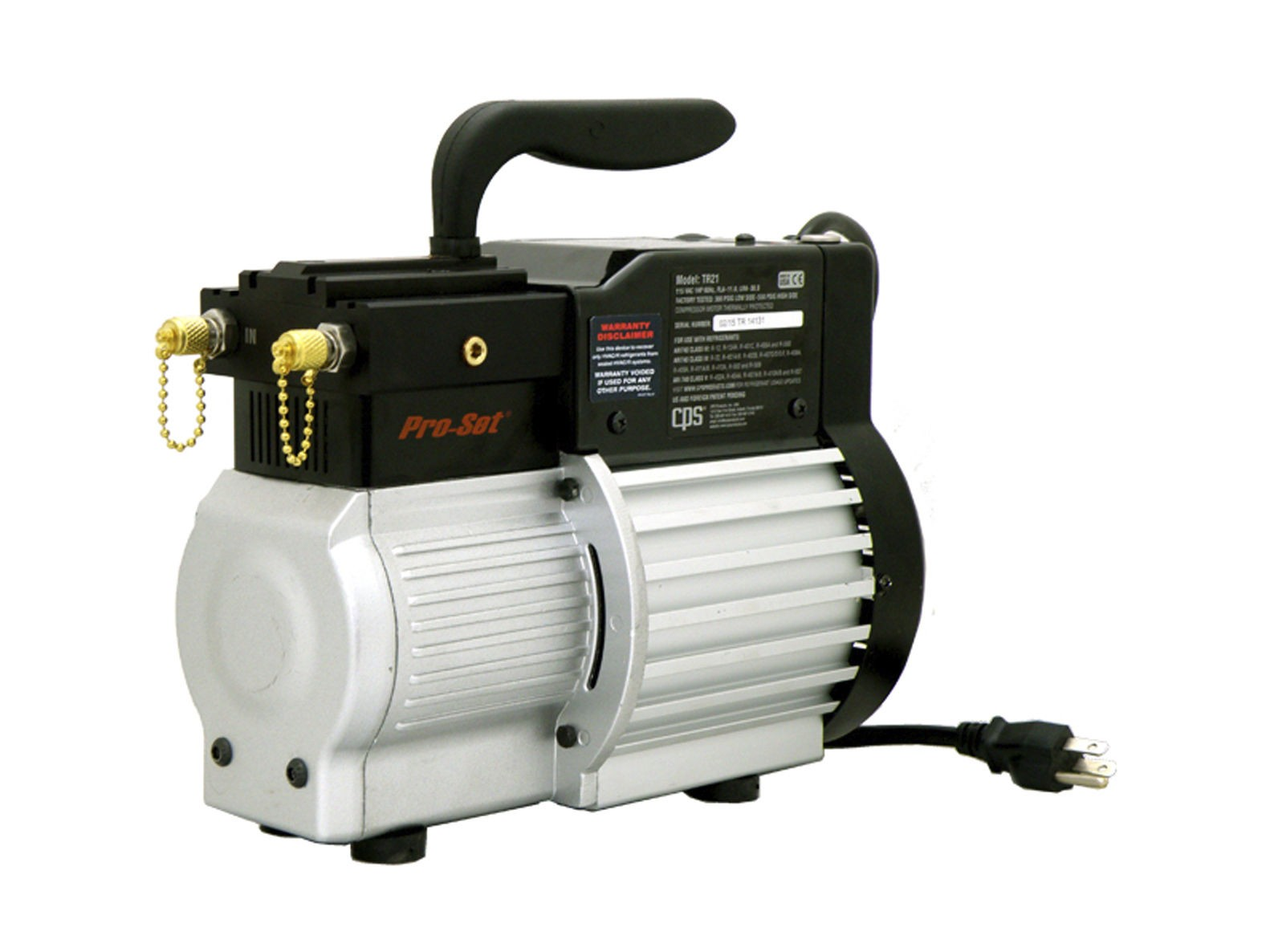 Ignition proof refrigerant recovery machines: CPS introduces another addition to the Pro-Set recovery line-up with the TRS21